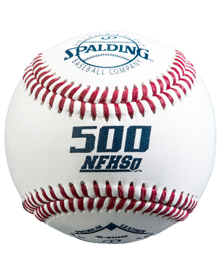 RAISED SEAM 500 NFHS BASEBALL - 12 PACK