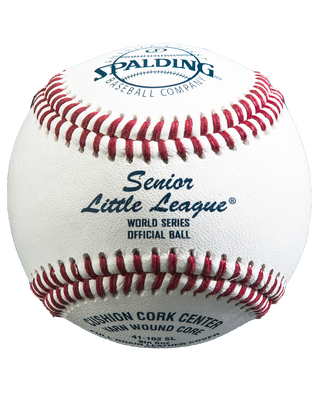 OFFICIAL SENIOR LITTLE LEAGUE WORLD SERIES BASEBALL - 12 PACK