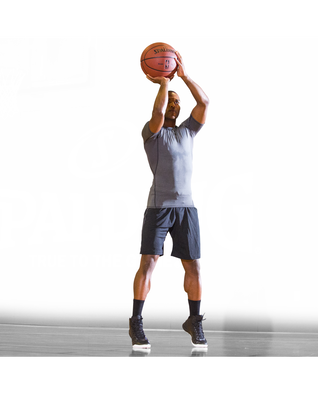 OVER-SIZED TRAINER BASKETBALL