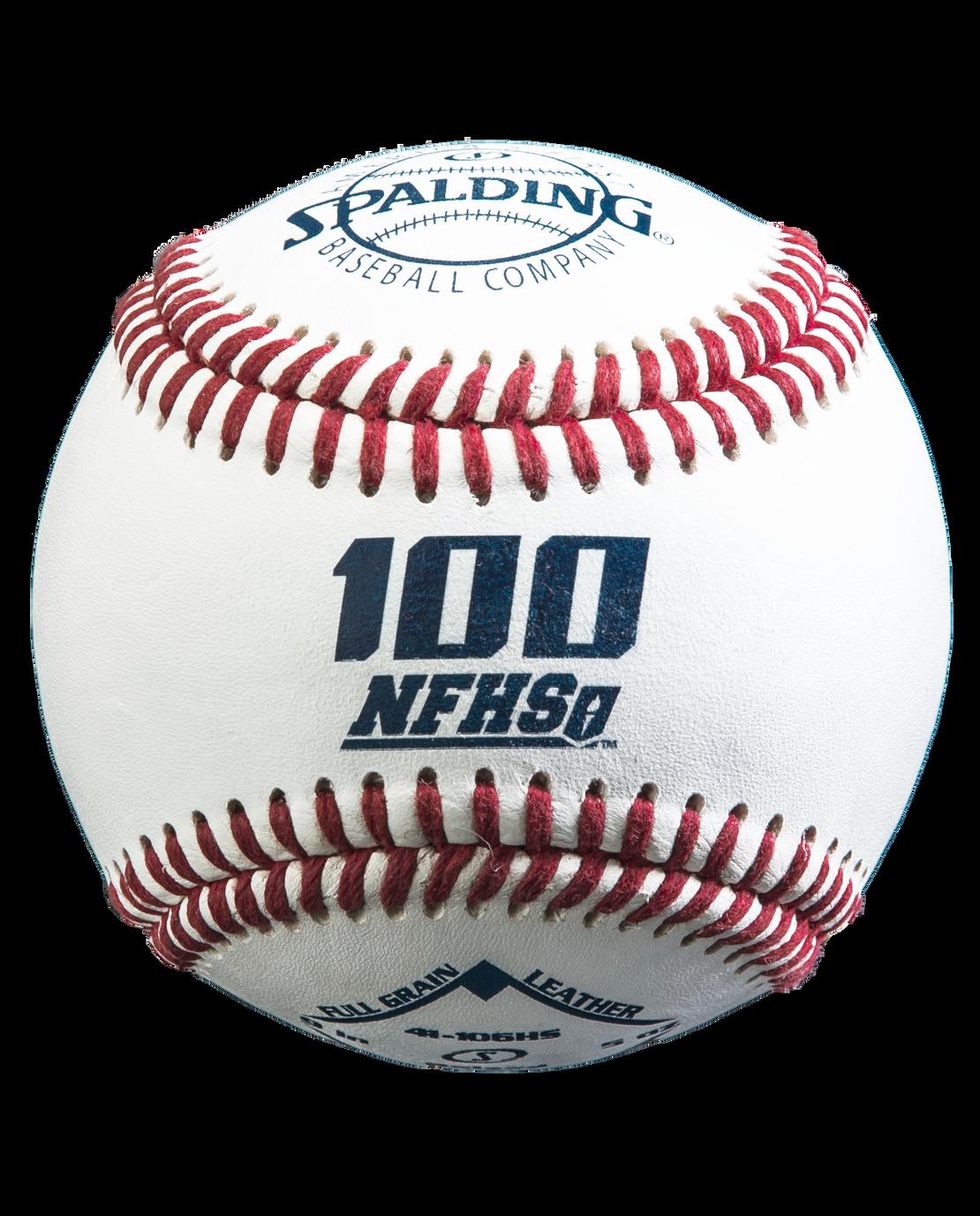 RAISED SEAM 100 NFHS BASEBALL - 12 PACK