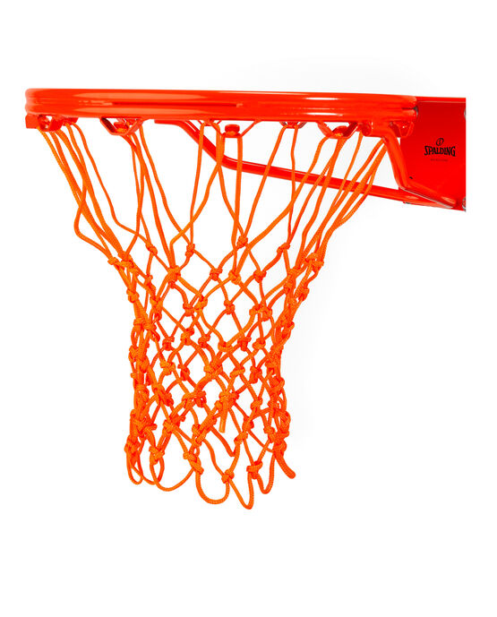 HEAVY DUTY BASKETBALL NET - ORANGE orange