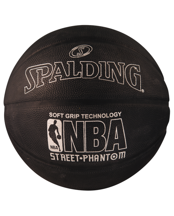 NBA Street Phantom Black and Silver Outdoor Basketball silver/black