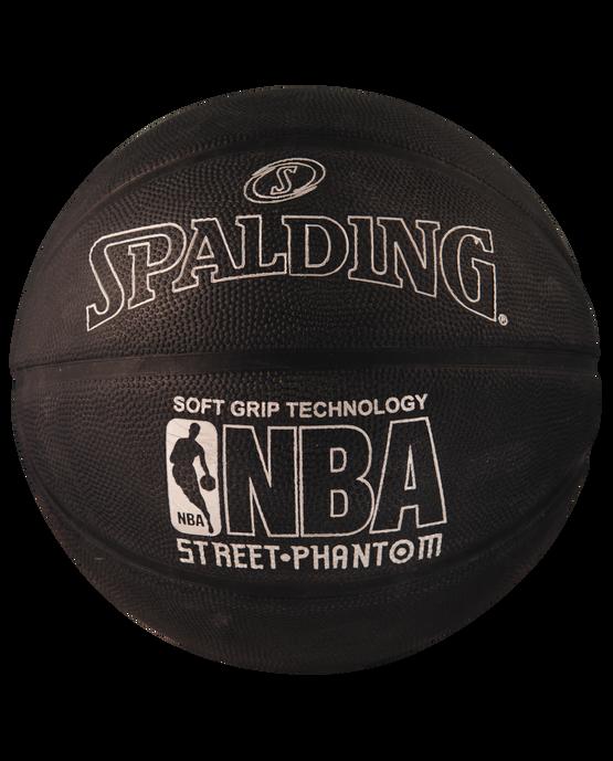NBA Street Phantom Black and Silver Outdoor Basketball silver/black