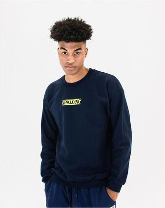 Men's Cotton Logo Fleece Sweatshirt