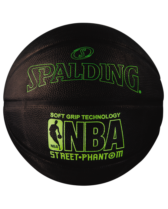 NBA Street Phantom Black and Neon Green Outdoor Basketball Neon Green/Black