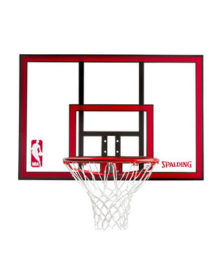 Polycarbonate Basketball Backboard & Rim Combo