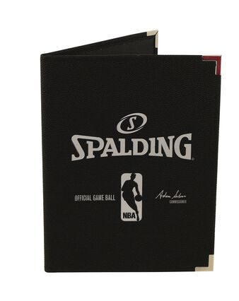 BLACK NBA PAD HOLDER