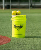 "11"" ASA Thunder Heat Fastpitch Softball 1-Dozen Bucket"