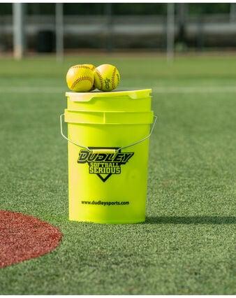 Thunder Heat Fastpitch Softball-1 Dozen Bucket