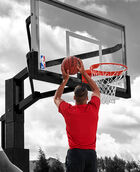 """Arena View® Series 72"""" Glass In-Ground Basketball Hoop"""