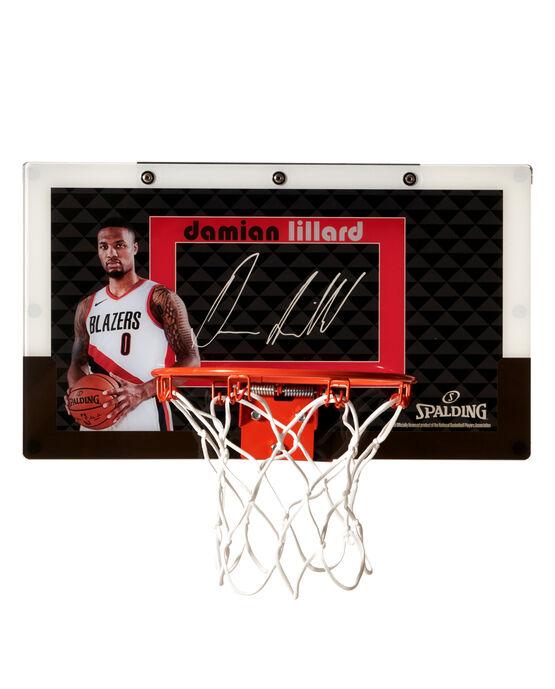 Limited Edition Damian Lillard Over-the-Door Mini Basketball Hoop