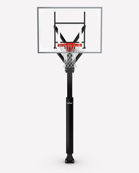 """888™"" Series 54"" Tempered Glass U-Turn® Pro In-Ground Basketball Hoop"