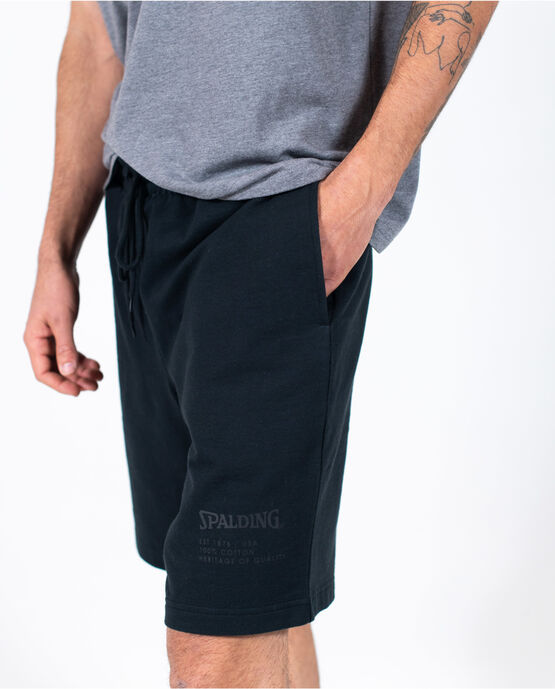 Men's Logo Short Black Small BLACK