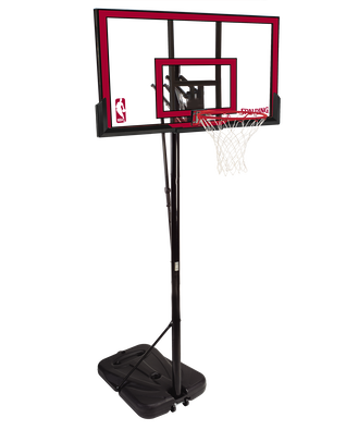 Pro Glide™ Polycarbonate Portable Basketball Hoop System