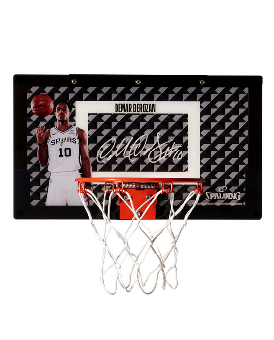 Limited Edition DeMar DeRozan Over-the-Door Mini Basketball Hoop