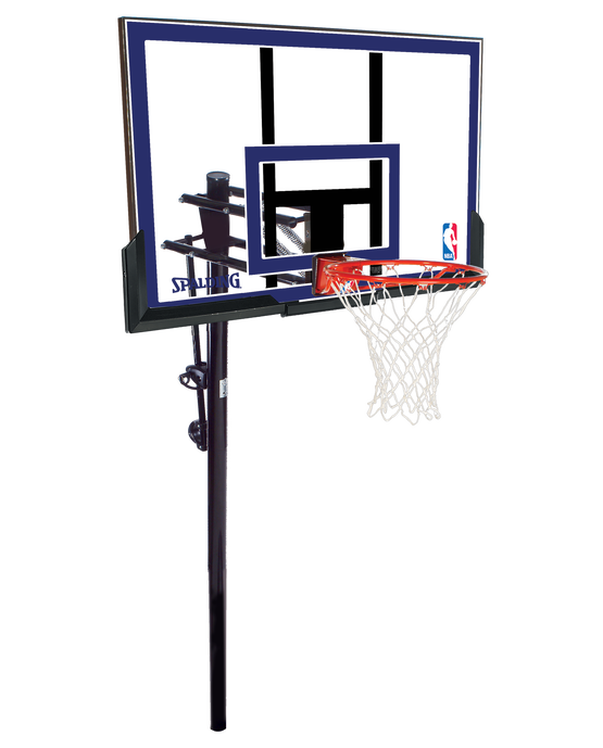 """Exactaheight™ In-Ground Basketball Hoop System - 50"""" Polycarbonate"""