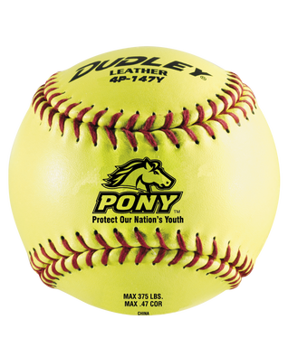 OFFICIAL PONY LEAGUE FASTPITCH SOFTBALL - 12 PACK
