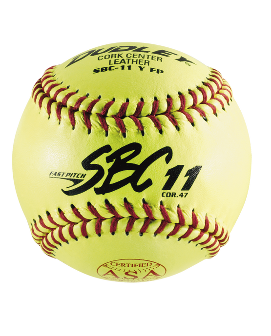 "11"" ASA SBC FASTPITCH SOFTBALL - 12 PACK"