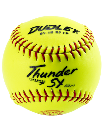 "12"" ASA THUNDER SY FASTPITCH SOFTBALL - 12 PACK"