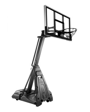 "Limited Edition All-Black The Beast® 60"" Glass Portable Basketball Hoop"