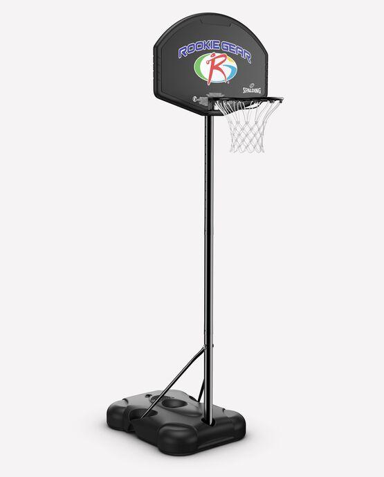 "32"" Rookie Gear Molded Eco-Composite® Telescoping Portable Basketball Hoop"