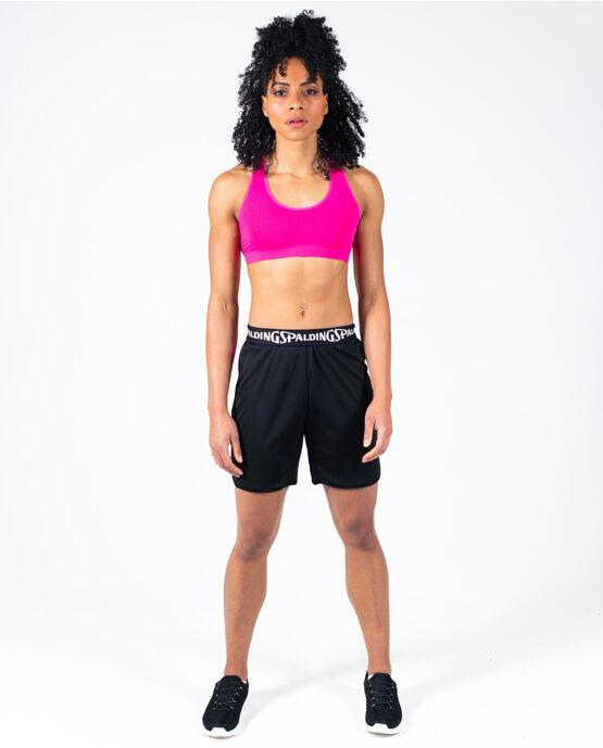 Women's Basketball Short Black/Magenta Medium BLACK / MAGENTA
