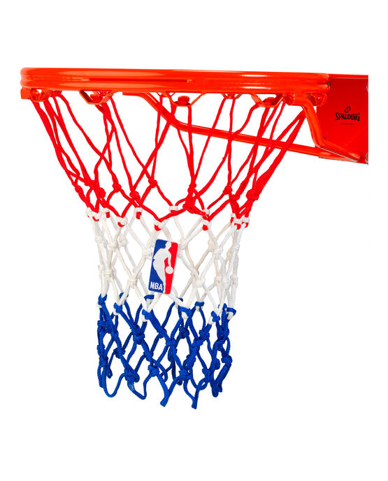 HEAVY DUTY BASKETBALL NET - RED/WHITE/BLUE red/white/blue