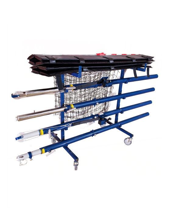 Volleyball Equipment Cart