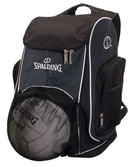 SPALDING® ATHLETIC BALL BACKPACK Stealth/Black