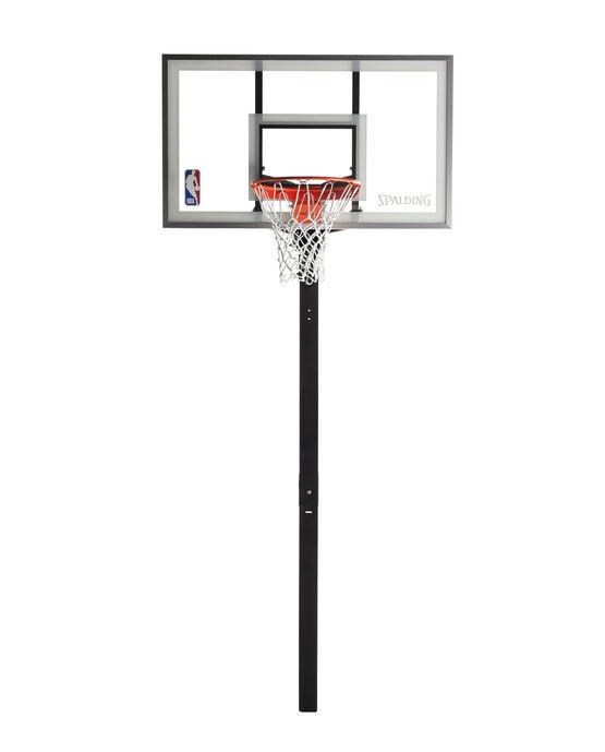 "U-Turn® 60"" Glass In-Ground Basketball Hoop"