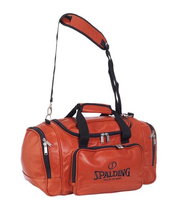 Leather Basketball Duffle Bag