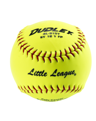 LITTLE LEAGUE SYNTHETIC FASTPITCH SOFTBALL - 12 PACK