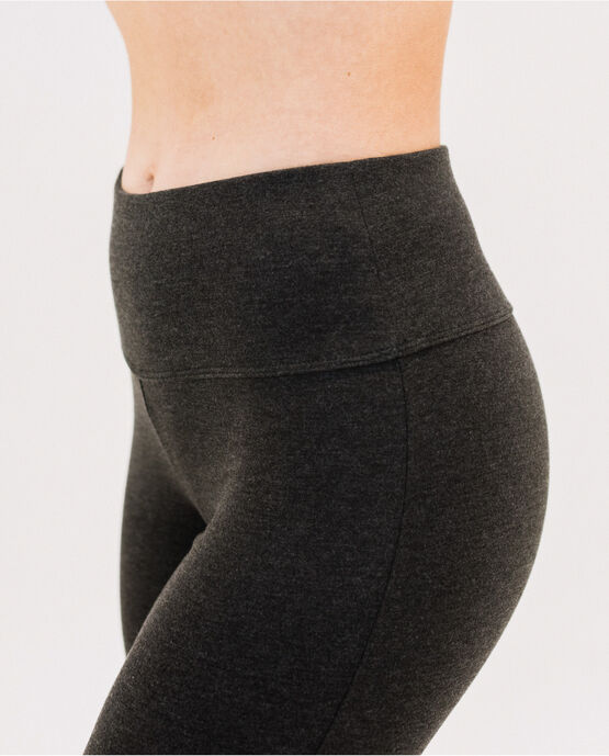 "Women's 31.5"" Bootcut Yoga Pant Charcoal Heather Small CHARCOAL HEATHER"