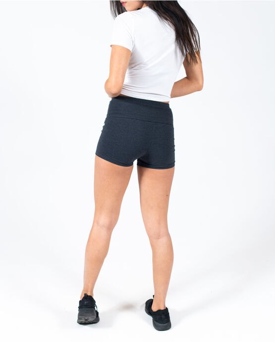 "Women's 3"" Cotton Gym Short Charcoal Heather XL CHARCOAL HEATHER"