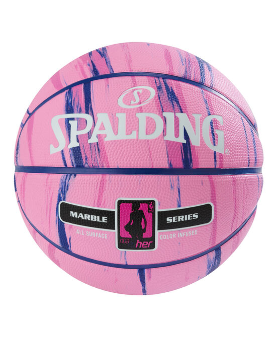 """NBA Marble Series 4 Her Outdoor Basketball - 28.5"""""""