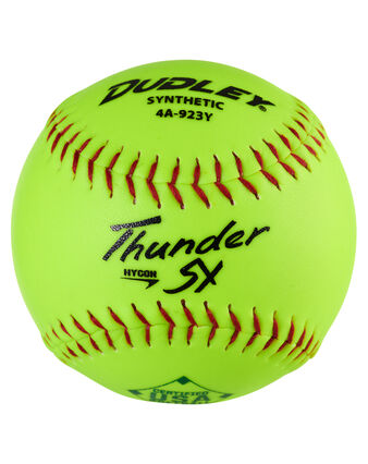 USASB THUNDER HYCON SLOWPITCH SOFTBALL - 12 PACK