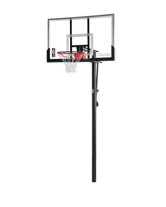 "Exactaheight 54"" Acrylic In-Ground Basketball Hoop"