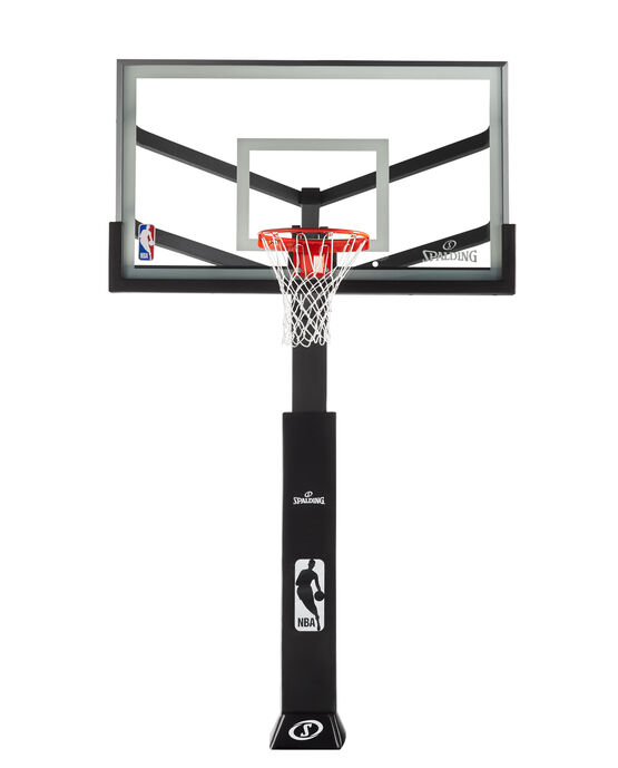 "Arena View® Series 72"" Glass In-Ground Basketball Hoop"