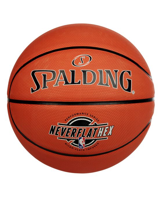 "NBA SGT™ NeverFlat® Hexagrip Indoor-Outdoor Basketball - 29.5"""