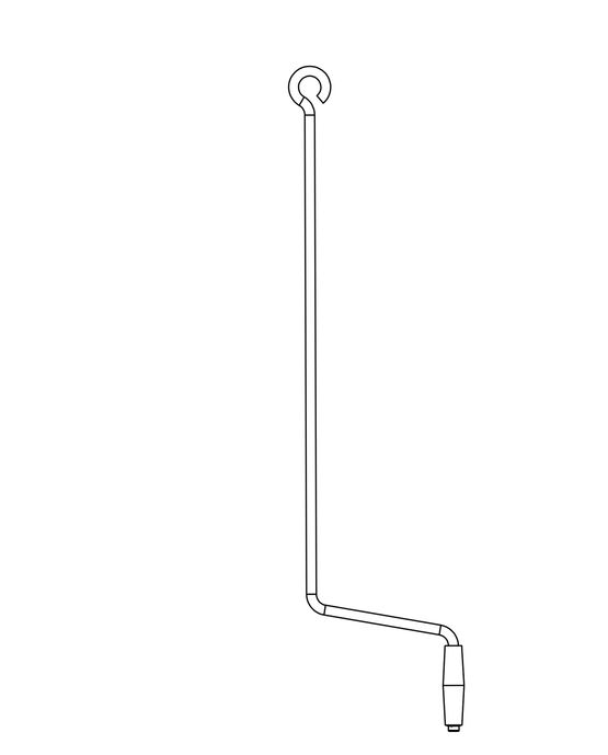 U-Turn Lift System Replacement Crank Handle