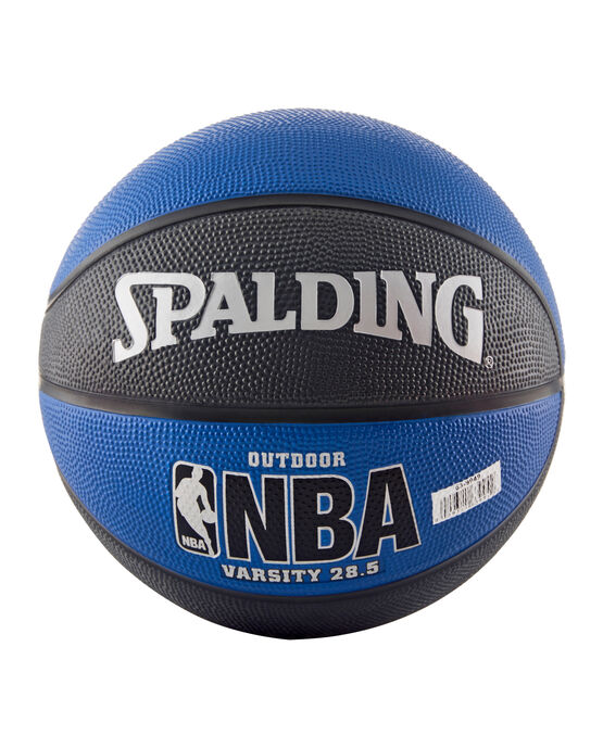 "NBA Varsity Multi-Color Outdoor Basketball - 28.5"" - Blue and Black blue/black"