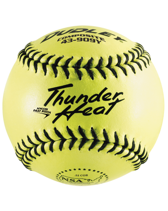 NSA THUNDER HEAT® FASTPITCH SOFTBALL - 12 PACK