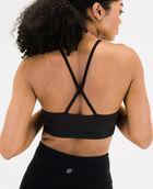 Women's Logo Bralette Black Large BLACK