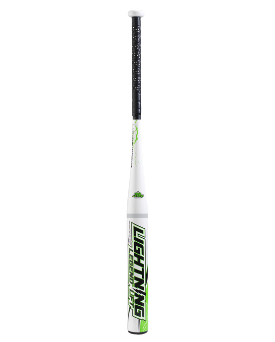 Lightning Legend Lift 27 ounce Senior Softball Bat - White/Green