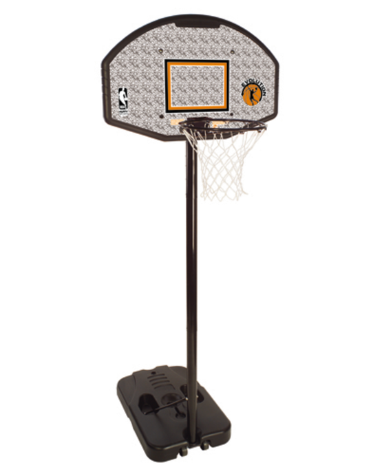 "Telescoping Portable Hoop System - 44"" Eco-Composite"
