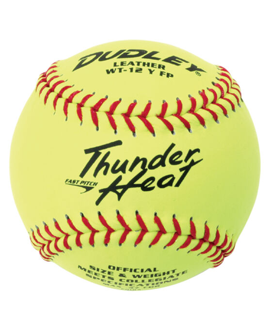 "12"" COLLEGIATE THUNDER HEAT® FASTPITCH SOFTBALL - 12 PACK"