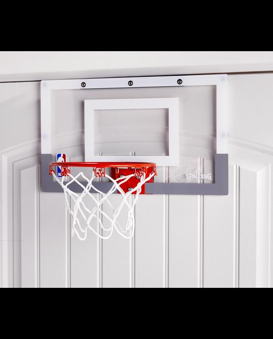 NBA Slam Jam Over-the-Door Mini Basketball Hoop