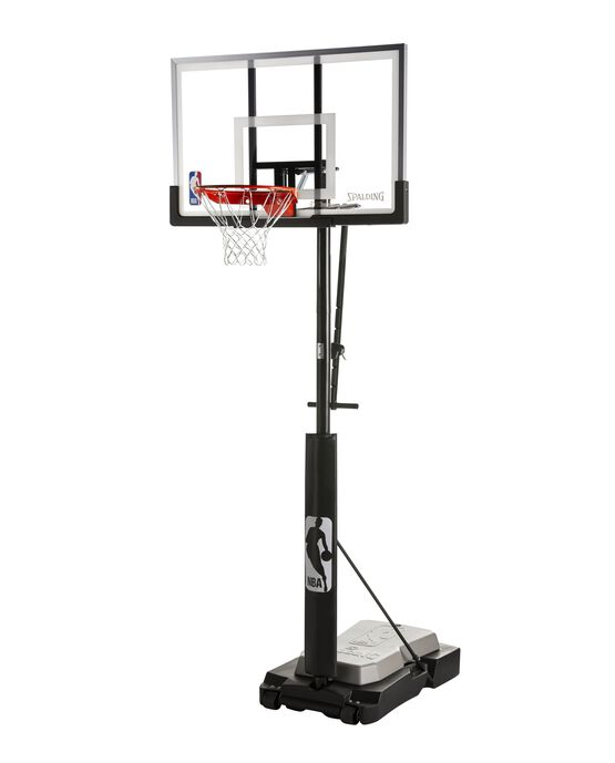 "Ultimate Hybrid Jr.® 44"" Acrylic Portable Basketball Hoop"