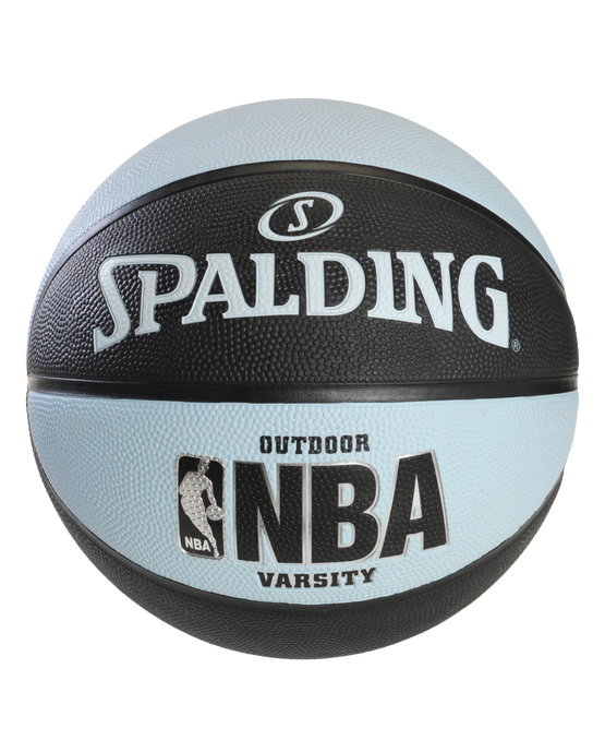NBA Varsity Multi-Color Outdoor Basketball - Black & Blue Black/Lt. Blue