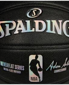 Spalding® NBA NeverFlat® Game Ball Replica Series Basketball - Black